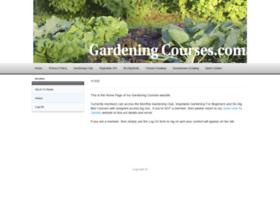 gardening-courses.com