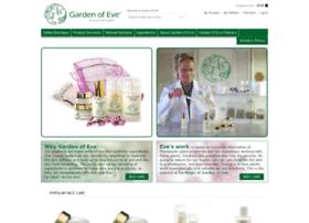gardenofeveskincare.com