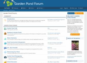 gardenpondforum.com