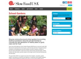 gardens.slowfoodusa.org