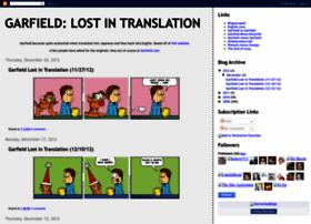 garfieldlostintranslation.blogspot.com
