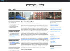 garrymayo922.edublogs.org