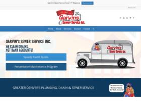 garvinssewerservice.com