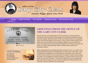 garycityclerk.com