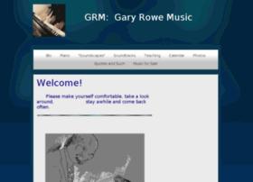 garyrowemusic.com
