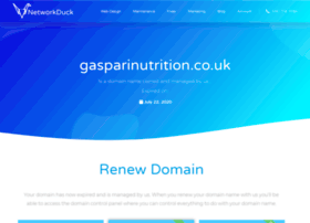 gasparinutrition.co.uk