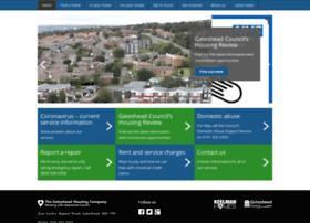 gatesheadhousing.co.uk