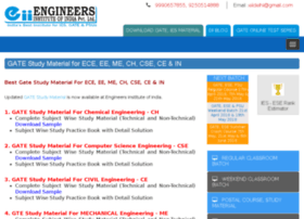 gatestudymaterial.engineersinstitute.com