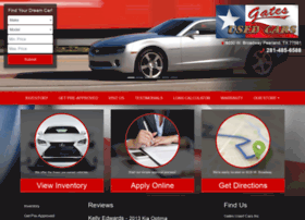 gatesusedcars.com