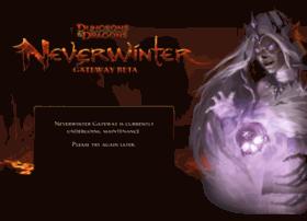 gatewaysitedown.playneverwinter.com