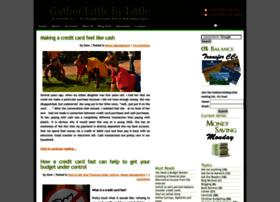 gatherlittlebylittle.com