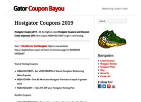 gatorcouponbayou.com