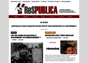 gaucherepublicaine.org