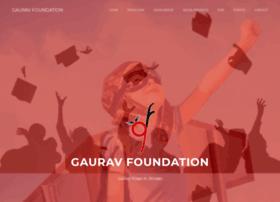 gauravfoundation.org