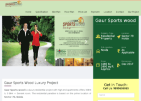gaursportswoodsector79.in