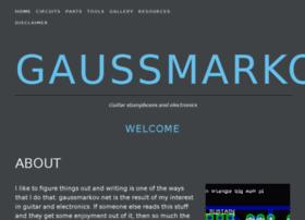 gaussmarkov.net
