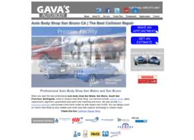 gavasautobody.com