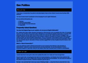 gavpolitics.co.uk