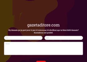 gazetaditore.com