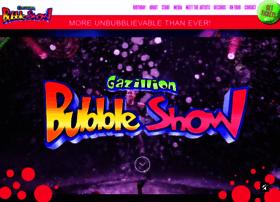 gazillionbubbleshow.com