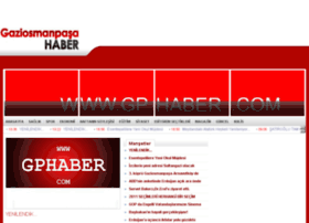gaziosmanpasahaber.com