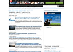 gazprom.einnews.com