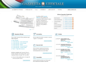 gazzettaufficiale.it