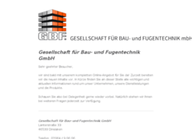 gbfmbh.de