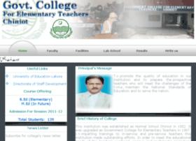 gcetcht.edu.pk