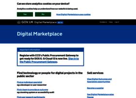 gcloud.civilservice.gov.uk