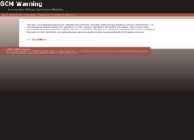 gcmwarning.com