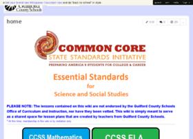 gcscommoncore.wikispaces.com