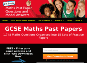 gcsemathspastpapers.com