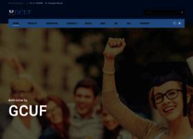 gcuf.com.pk