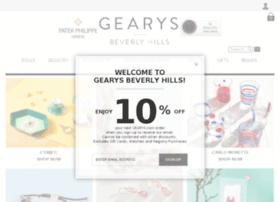 gearysofbeverlyhills.com