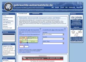 gebrauchte-autoersatzteile.de