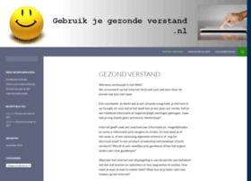gebruikjegezondeverstand.nl