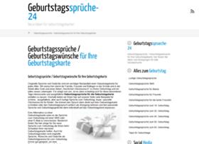 geburtstagssprueche-24.de