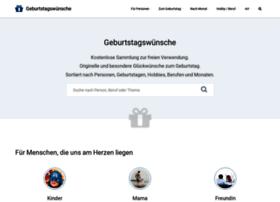 geburtstagswuensche.net