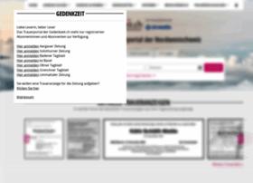 gedenkzeit.ch