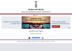 gedichte-bibliothek.de