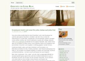 gedichte-lyrik-blog.de
