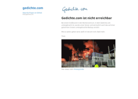 gedichte.com