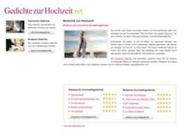 gedichtezurhochzeit.com
