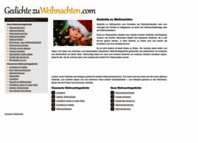 gedichtezuweihnachten.com