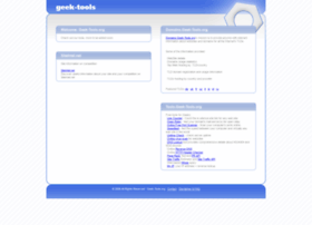 geek-tools.org