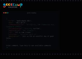 geekcamp.sg