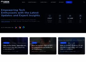 geekdashboard.com