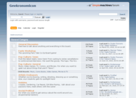 geekronomicon.com