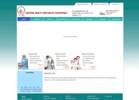 geethahospitals.com